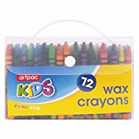 Artpac Kids 72 wax crayons