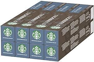 STARBUCKS Espresso Roast by NESPRESSO Dark Roast, 80 Kapseln, (8 x 10)