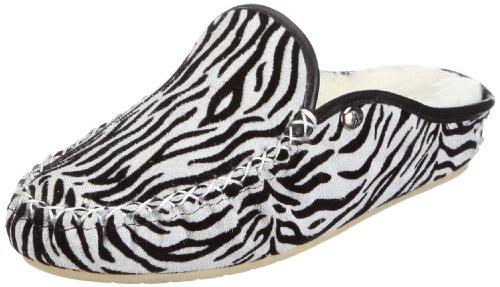 Hans Herrmann Collection hhc 025001-100, Chaussures femme Noir (Schwarz/Zebra)