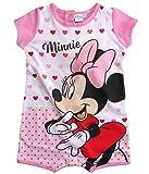 Minnie Mouse Kollektion 2018 Strampelanzug 56 62 68 74 80 86 Strampler Kurz Einteiler Maus Disney Rosa (Rosa, 62-68)