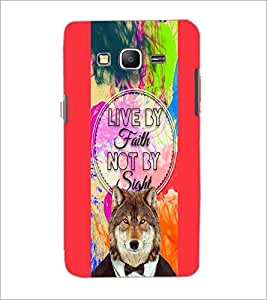 PrintDhaba Quote D-4220 Back Case Cover for SAMSUNG GALAXY GRAND PRIME (Multi-Coloured)