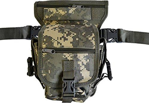 Hüfttasche Hip Bag SECURITY Bein und Gürtelbefestigung AT Digital