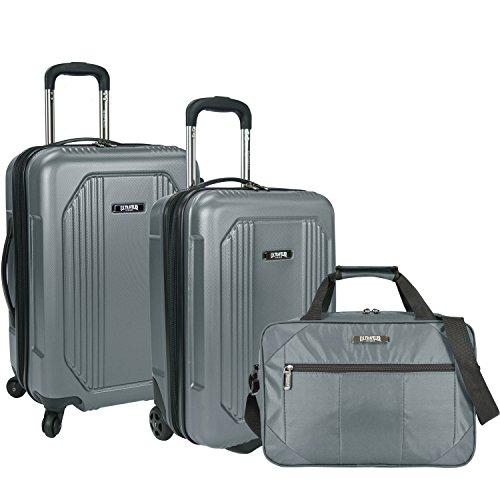 U.S. Traveler Bloomington - Juego de Equipaje (3 Piezas), US09041G3, US09041G3