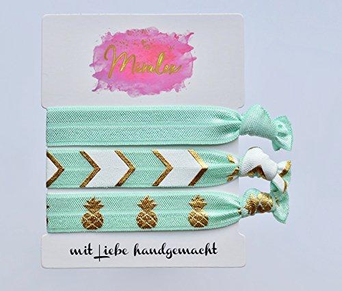 Miralex Haargummis & Armbänder - Turquoise Beach Style