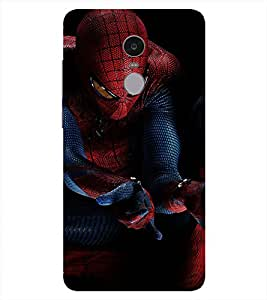 Spiderman Printed Back Cover for Redmi Note 4