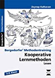 Kooperative Lernmethoden: Lesen: 3. und 4. Klasse (Bergedorfer Methodentraining)