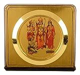 #3: Autosure A00106 Universal Religious Statue of Shri Ram Durbar