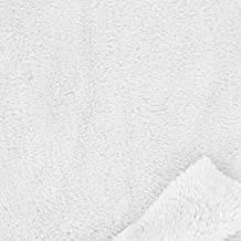 Tela Polar peluche - Blanca x10cm