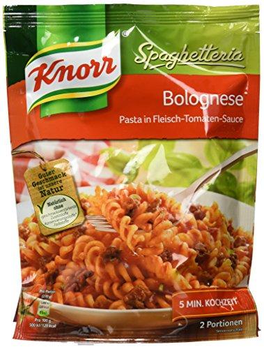 Knorr Spaghetteria Bolognese Nudel-Fertiggericht 2 Portionen (5 x 164 g)