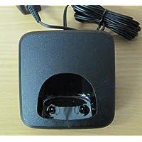 Siemens Gigaset - Base de carga (para teléfonos inalámbricos AS28H, AS18H, AS280 y AS285), color negro