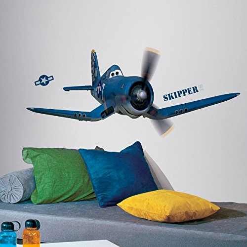 Stickers géant Skipper Riley Planes Disney