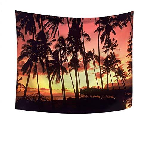 Dasongff Beach Style Tapisserie Picnic Beach Sheet Boho Tapestry Wandbehänge Wandteppiche Strandtuch für die Dekoration von Schlafzimmer und Wohnzimmer & Schlafsaal