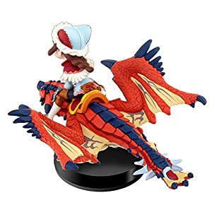 amiibo Sekigan Rathalos and Rider (Mädchen) – Moster Hunter Stories