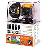 Waspcam 9902 HD Gideon Action Sports Camera with Wi-Fi and LVD Display Wrist Remote