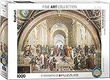 Eurographics 04141 Raffaello: La Scuola di Atene, Puzzle, 1000 Pezzi
