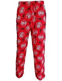 Pantalon d'intérieur pour homme 100% coton Motif Superman, Pierrafeu, Hulk, Spiderman, Batman, Taz