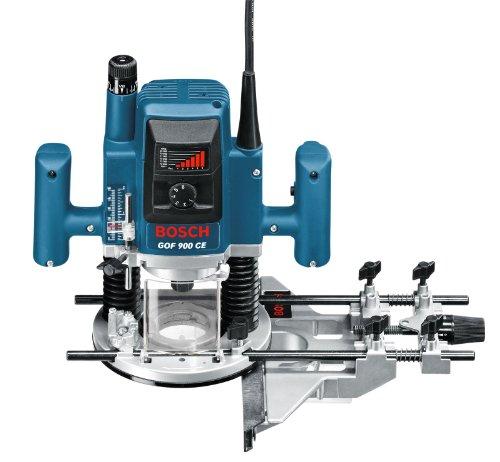 Bosch GOF 900 CE Professional Oberfräse im Karton mit Kopierhülse, Spannzange, Absaugadapter, Gabelschlüssel, Parallelanschlag und Zentrierstift - 3