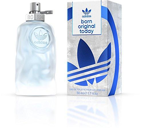 adidas Born Original Today Eau de Toilette - Aromatisch-frisches Herren Parfüm für jeden Tag mit schwungvoll kontrastierenden Düften - 1 x 50 ml