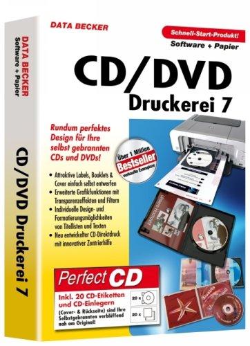 CD/DVD-Druckerei 7, DVD-ROM m. Papier Rundum perfektes Design für Ihre selbst gebrannten CDs und DVDs!