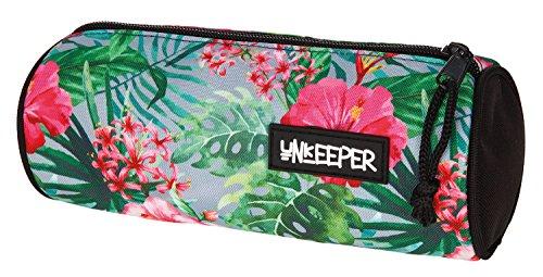 Unkeeper UNGH7740 - Estuche escolar (21x8x8 cm), diseño de flores