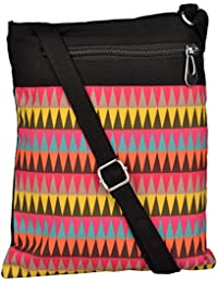 All Things Sundar Womens Sling Bag / Cross Body Bag - S02 - 72