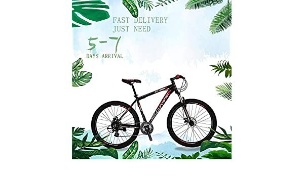 Extrbici XF300 Nuova Mountain Bike da 24 velocit/à Shimano Shifter 27,5 Forcella pneumatica da 19 Pollici in Lega di Alluminio con bloccaggio MTB Hardtail MTB Bici Doppio Freno a Disco Meccanico