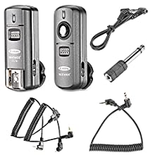 Neewer® FC 16 Multi Channel 2.4GHz 3 in 1 Remote Flash Trigger for Studio Flash with Remote Shutter Release for Canon Rebel T4i T3i T3 XS T2i T1i Xsi EOS 1100D 1000D 700D 650D 600D 60D 550D 500D 450D 100D, EOS 1D Mark IV 1D Mark III 5D Mark III 5D Mark II