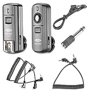Neewer® FC-16 Mehrkanal 2.4GHz 3-IN-1 Funk Blitz / Studio Blitzauslöser mit Fernauslöser für Canon Rebel T3 XS T4i T3i T2i T1i Xsi EOS 1100D 1000D 700D 650D 600D 60D 550D 500D 450D 100D, EOS 1D Mark IV 1D Mark III 5D Mark III 5D Mark II 50D 40D 30D 20D 7D 5D 6D
