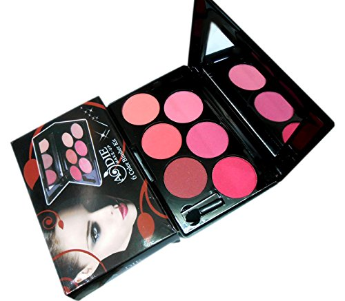 Aodie Make Up 6 Color Blusher Kit
