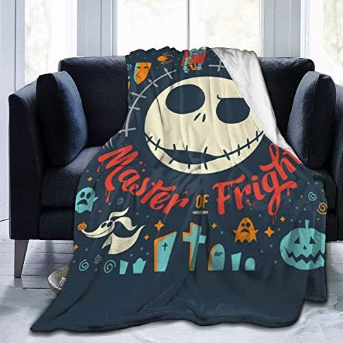 "DAIAII Kuscheldecken Überwürfe Decken Nightmare Before Christmas Super Soft Fuzzy Light Weight Warm Blanket for Bed Couch Chair Fall Winter Spring Living Room Multiple Sizes,50\""\"" x40"