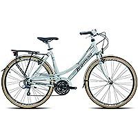 Legnano Ciclo 301Ventimiglia, City Bike para Mujer, Mujer, 5L3018, Gris/Negro, 48