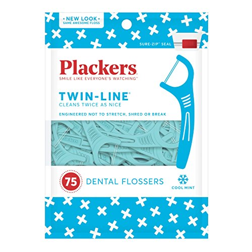 Placker Twin-Line Advance Cleaning 75'S (Zahnpflege)