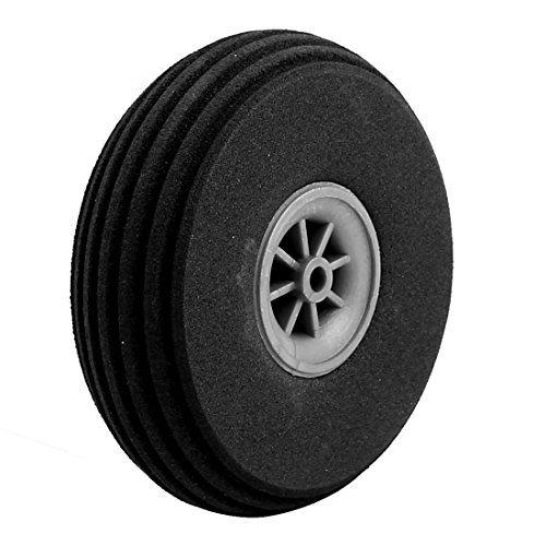 DealMux Modelo Negro Plano goma esponja 76mm x 23mm