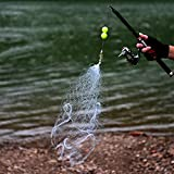 #5: Ocamo Nylon Fishing Net Sticky Mesh Net for Safe Fishing without Hook
