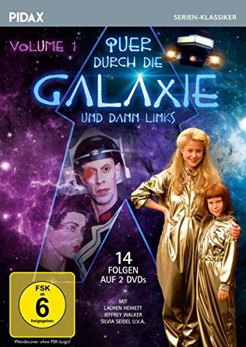 Quer durch die Galaxie und dann links, Vol. 1 / Die ersten 14 Folgen der erfolgreichen Science-Fiction-Serie nach dem Roman von