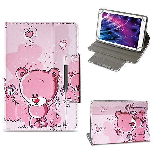 NAUC Tablet Tasche für Medion Lifetab E10604 E10412 E10511 E10513 E10501 Hülle Schutzhülle Case Schutz Cover, Farben:Motiv 1