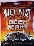 Wild West Hot n Spicy Beef Jerky Carne Seca Caliente y Picante 50g