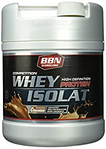 BBN Hardcore Competition Whey Isolat Schoko Dose, 1er Pack (1 x 1.9 kg)