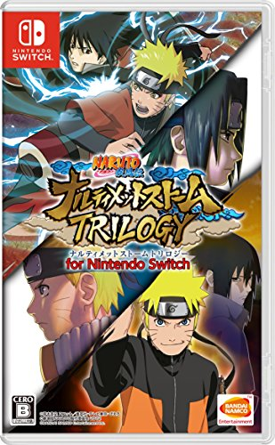 Shippuden Ultimate Ninja Storm Trilogy NINTENDO SWITCH JAPANESE IMPORT REGION FREE ()