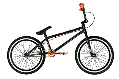 New 2017 Diamondback Grind BMX Black and Orange 25x9T Gearing 10/20 Hi Tensile Frame
