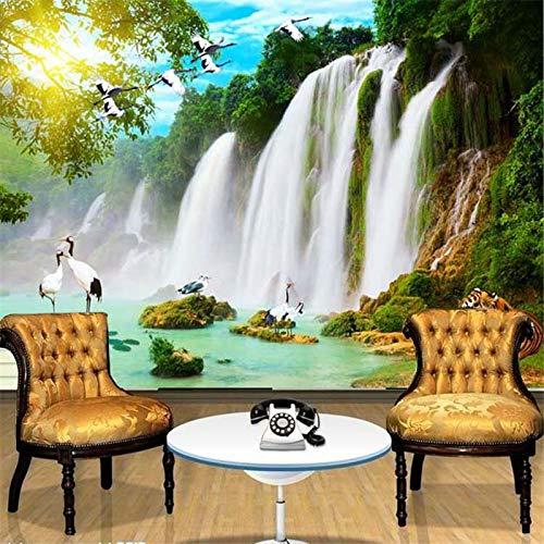 Abihua Wandbilder Wohnzimmer Tv Hintergrund Große 3D Stereo SchlafzimmerTapete Wasserdichte Landschaft 280Cm X 180Cm (Unterwasser-schlafzimmer)