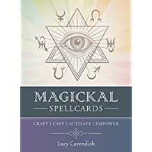 Magickal Spellcards: Craft - Cast - Activate - Empower - 45 Full Colour Cards & Book Set
