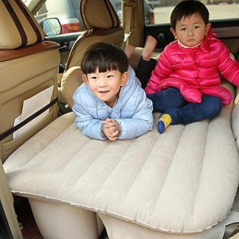 Coche dormitorio cama de aire cojín móvil Viajes inflación asiento posterior más grueso colchón extendido209 con un conjunto completo de