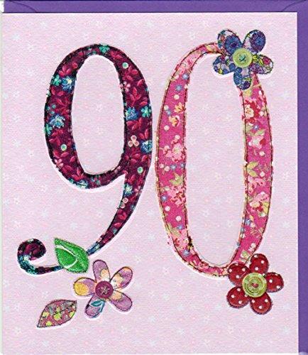 Pigmento Productions originelle-Tarjeta 90cumpleaños-Refinado