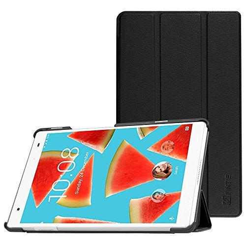 Fintie Lenovo Tab4 8 Plus Hülle - Ultradünne Superleicht Schutzhülle Tasche Etui Case mit Auto Schlaf/Wach Funktion für Lenovo Tab 4 8 Plus 20,32 cm 8 Zoll Tablet-PC (Not für Lenovo Tab4 8), Schwarz