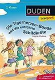 Leseprofi ─ Die Tigerherzen-Bande und die entführte Schildkröte, 2. Klasse (DUDEN Leseprofi 2. Klasse)