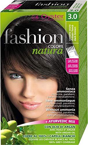 Fashion natura colore capelli senza ammoniaca castano scuro 3.0