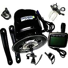 Tongsheng, TSDZ2 -Kit de motor para conversión de Ebike, sensor de torsión 36V 350W,motor de alta velocidad con pantalla XH18 para bicicleta eléctrica