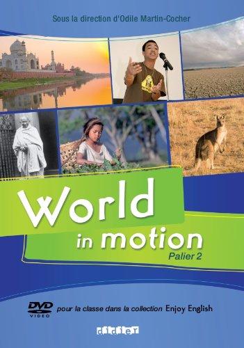 World In Motion palier 2 - DVD + livret: Enjoy 4e 3e palier 2 dvd + livret
