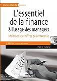 Image de L'essentiel de la finance à l'usage des managers